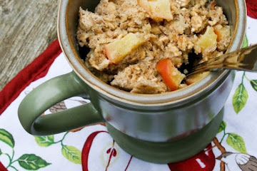 Apple Banana Baked Oatmeal