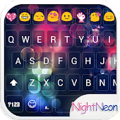 Night Glass Emoji Keyboard