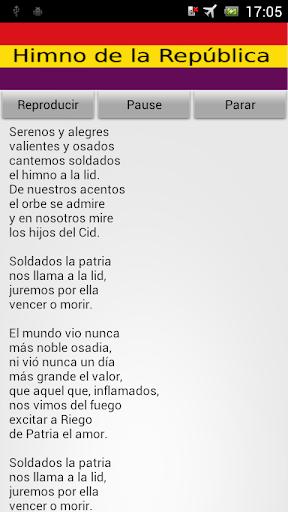 Himno República España