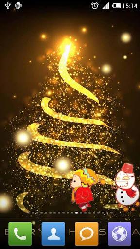 唯美聖誕壁紙 唯美圣诞壁纸