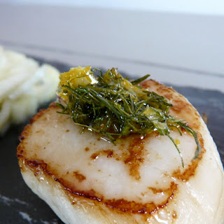 Scallops with Dill and Orange Gremolata