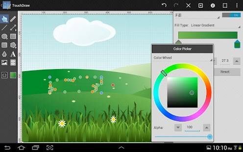 TouchDraw Screenshot