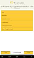 Screenshot of TouchPoint Surveys