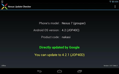 Nexus Update Checker - screenshot thumbnail
