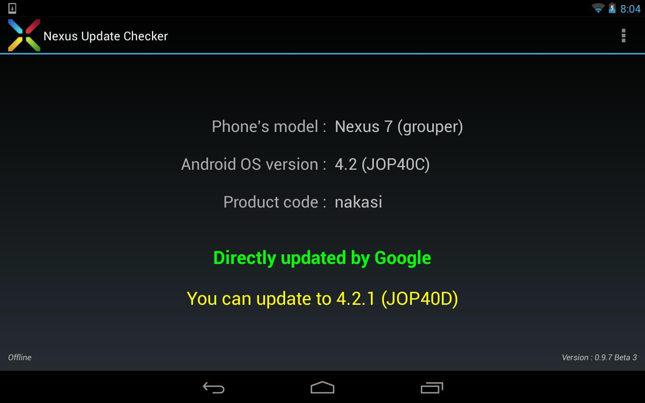 Nexus Update Checker - screenshot