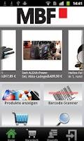 Screenshot of MBF Filmtechnik - Shop