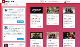 Screenshot of Super Junior (KPopLive)
