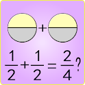 Simply Fractions 3, math games icon