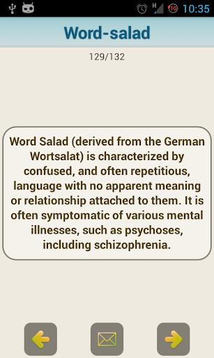 【免費醫療App】Medical Psychiatric Dictionary-APP點子