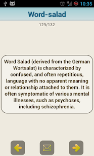 Medical Psychiatric Dictionary- screenshot thumbnail
