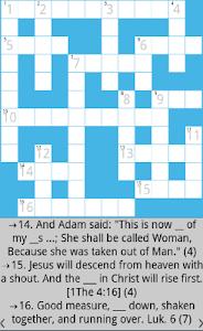 Bible Crossword 4.7