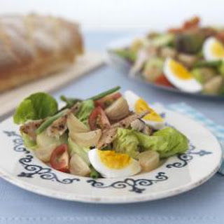 Nordic not Niçoise salad
