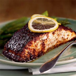 Barbecue Roasted Salmon.