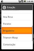 Screenshot of SMS-Denúncia