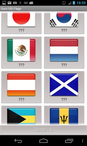 National Flag quiz 100