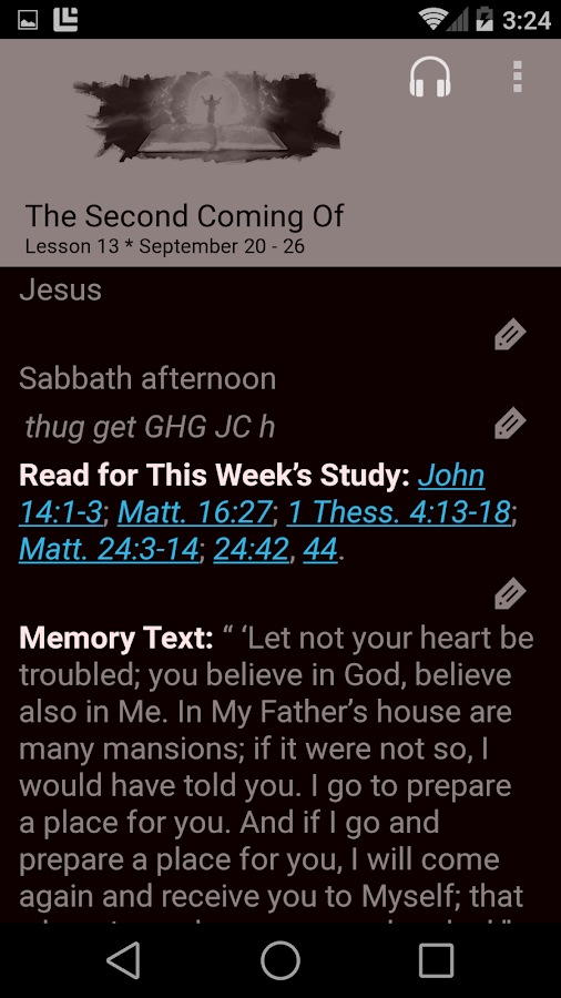 SDA Sabbath School Quarterly- screenshot