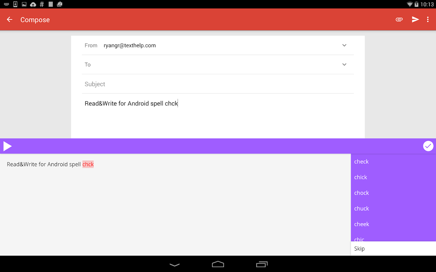 Scan Scan Write Application for Android