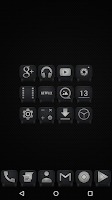 Screenshot of Black - Icon Pack