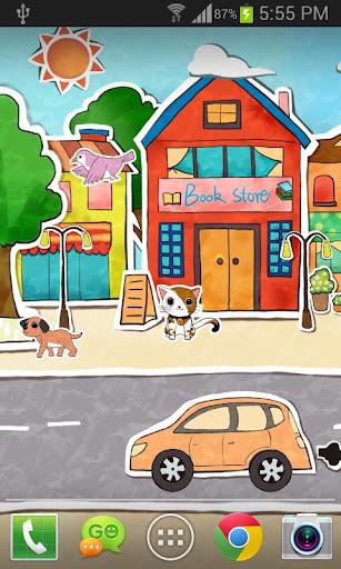 Paperland Live Wallpaper 1.3.4 screenshots 1
