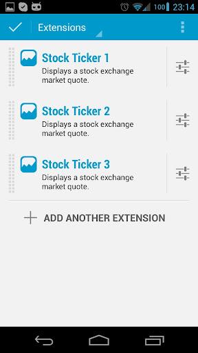 DashClock Ticker Extension