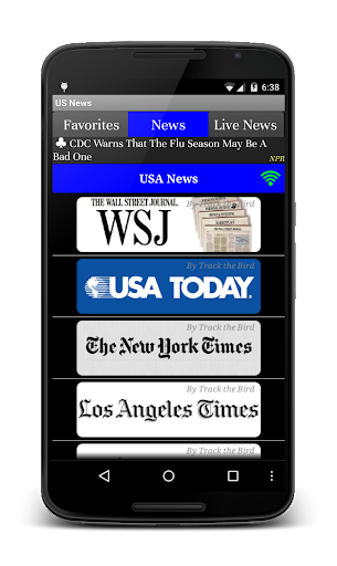 US News Daily Live Papers