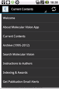 Molecular Vision- screenshot thumbnail