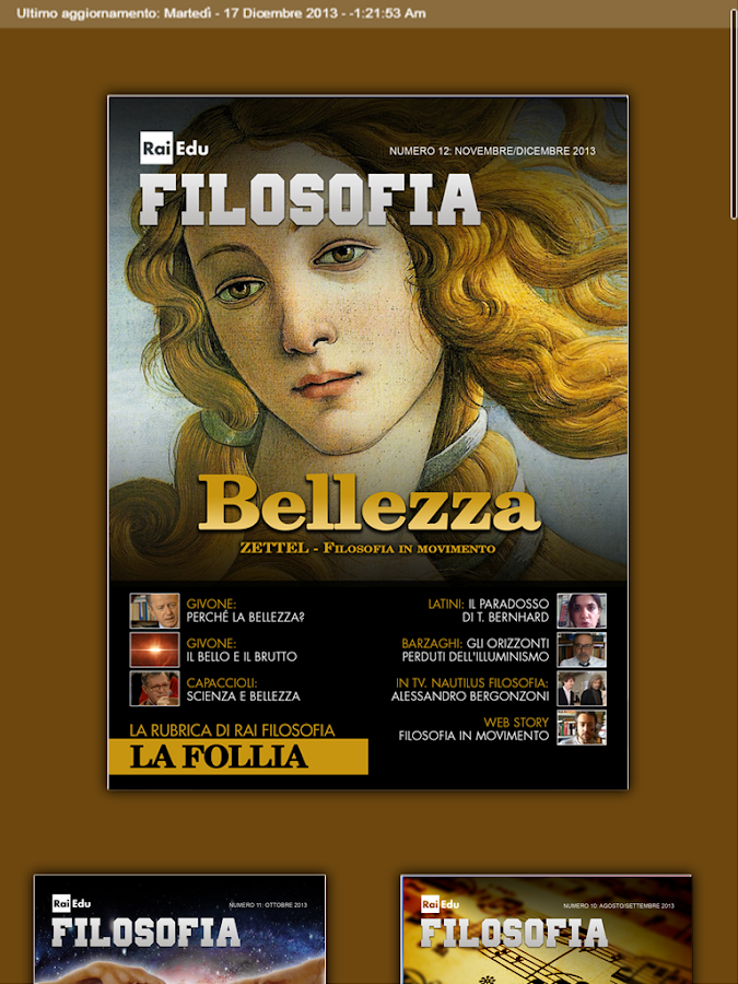 Rai Filosofia- screenshot
