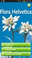 Screenshot of Flora Helvetica Mini français
