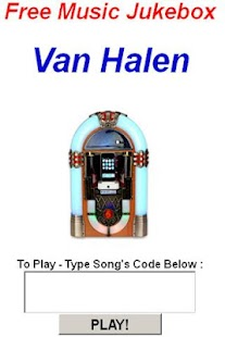 Van Halen Jukebox - screenshot thumbnail