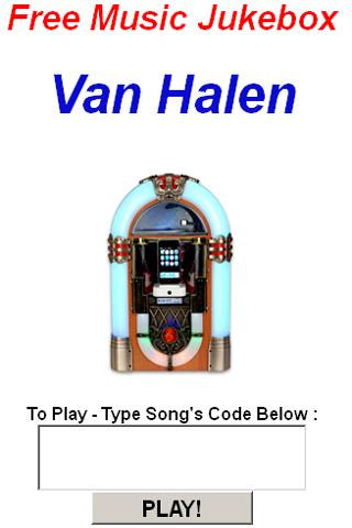 Van Halen Jukebox - screenshot