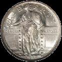 Standing Liberty Quarters logo