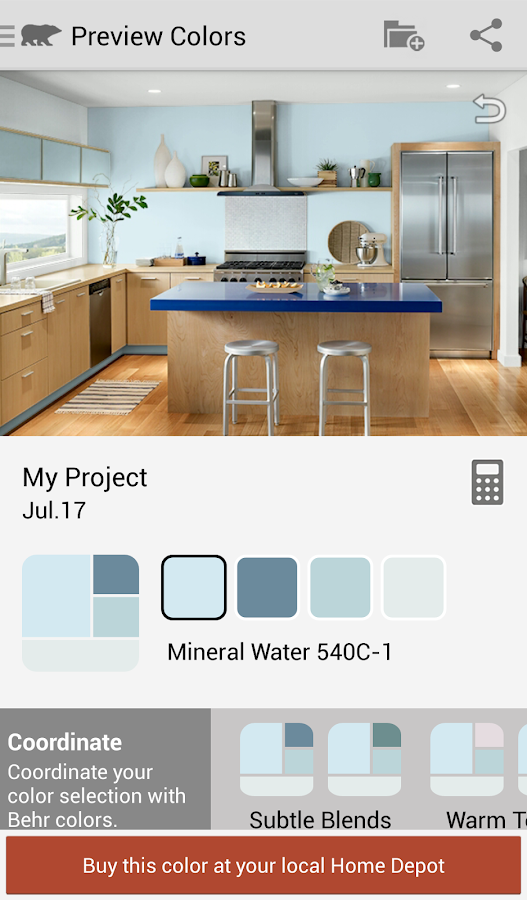 ColorSmart by BEHR® Mobile- screenshot