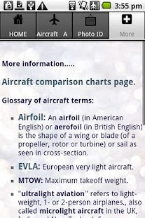 Aircraft Guide civil aircraft - screenshot thumbnail