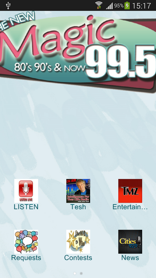 Magic 99.5- screenshot