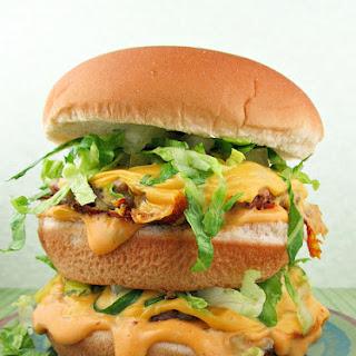 Homemade Healthier Big Macs.