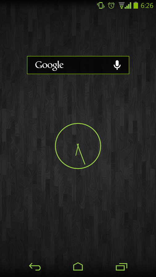 Green Android CM11 AOKP Theme - screenshot