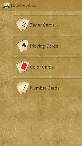 RVCards - Remote Viewing Cards Screenshot