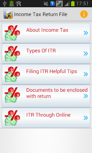 Income Tax Return File