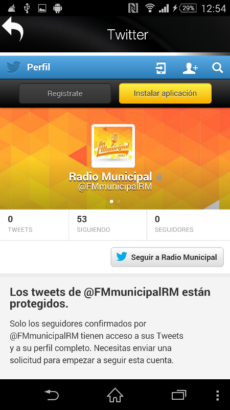 Radio Municipal Rio Mayo- screenshot