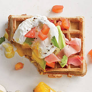 Green, Egg, and Ham Waffle.