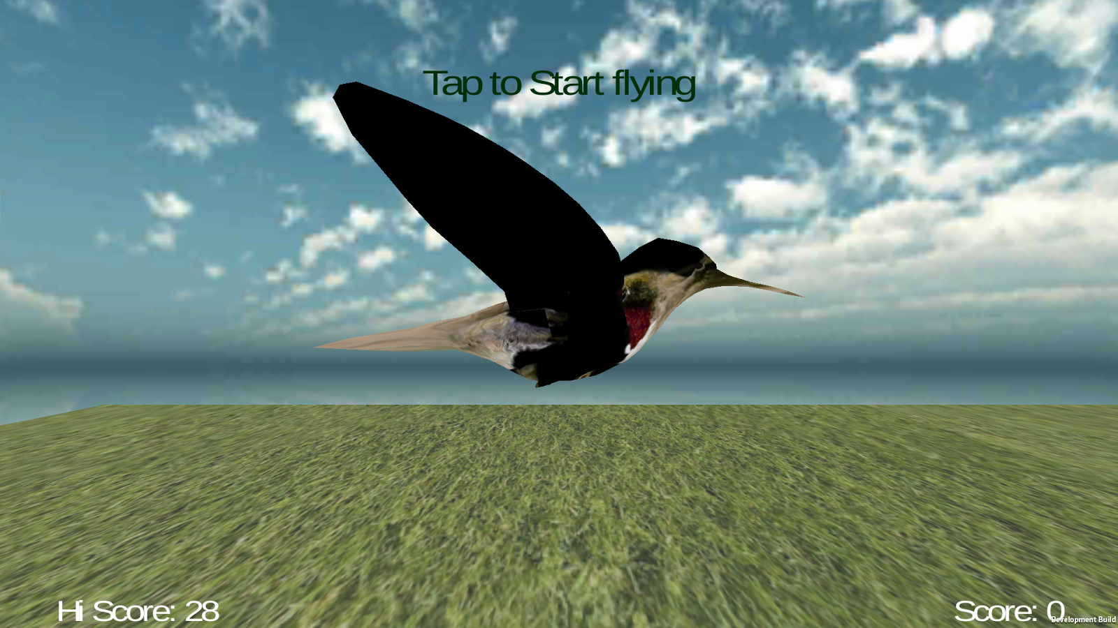 Jumpy Bird 3D - screenshot