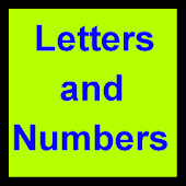 Letters and Numbers Countdown