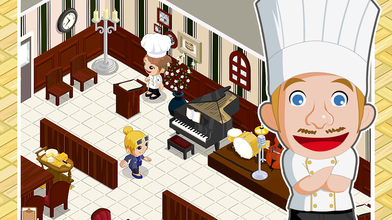 Restaurant Story: Halloween - screenshot