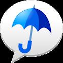 雨降りアラート: お天気ナビゲータ logo