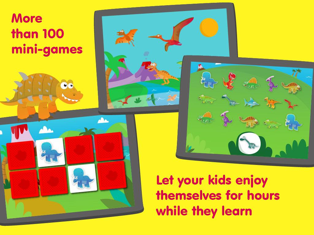 Dino kids - Dinosaurs games - screenshot