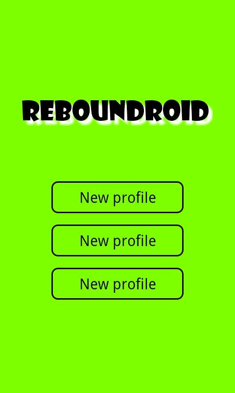 Reboundroid - screenshot