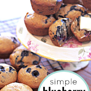 Simple Blueberry Muffin.