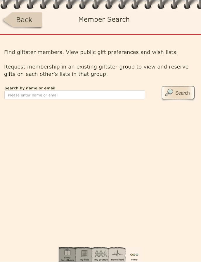 Giftster - Wish List Registry- screenshot