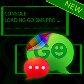 Console Theme for GO SMS Pro
