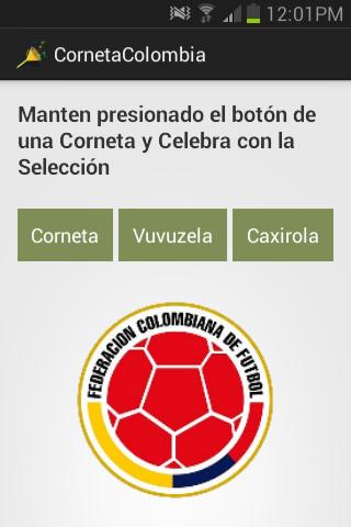 Corneta Colombia